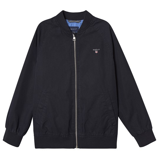 GANT Navy Small Shield Logo Bomber 433