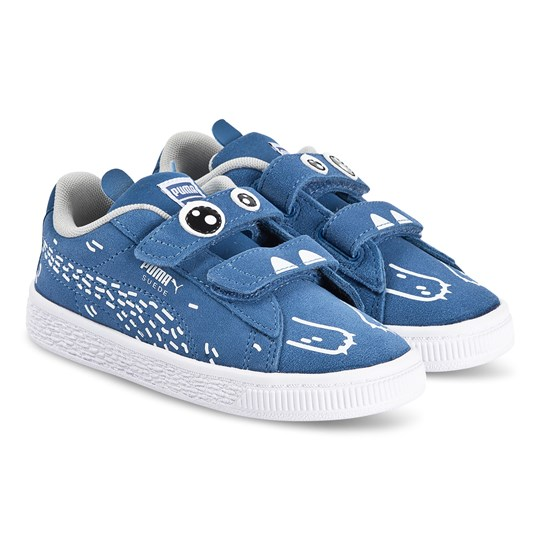 Puma Monster Family Suede Sneakers Bright Cobalt 01