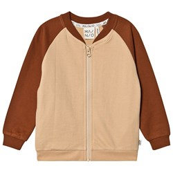 MAINIO Lifeguard Zip Tröja Caramel/Cafe Semolina