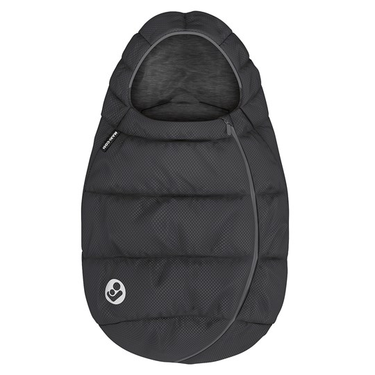 Maxi-Cosi Baby Footmuff Essential Black Essential Black