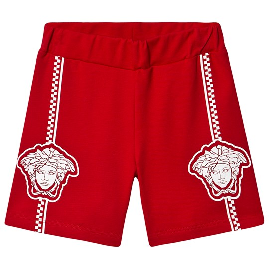 Versace Medusa Shorts Red A1227