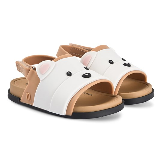Mini Melissa Mini Beach Bear Sandals Tan Contrast 53587