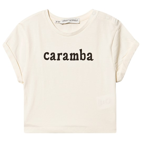 Sproet & Sprout Caramba Tee Cream Summer White