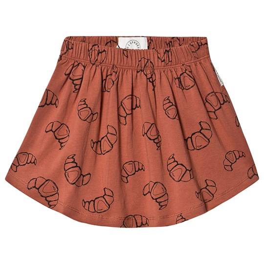 Sproet & Sprout Croissant Jersey Skirt Brown Mango