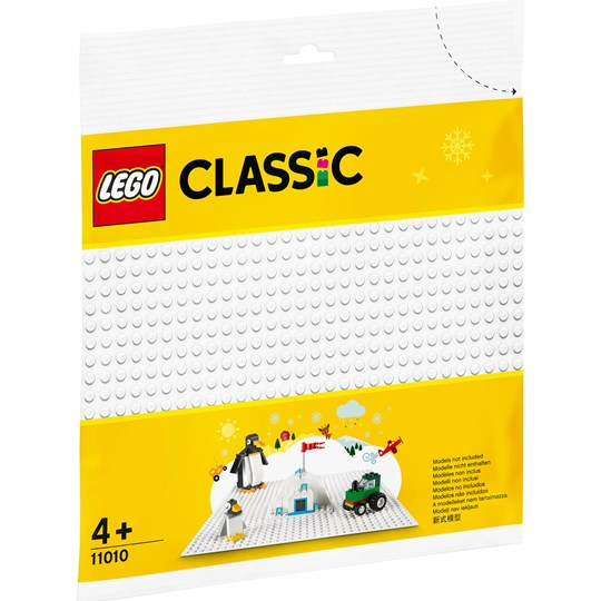 LEGO Classic 11010 LEGO® Classic White Baseplate Red