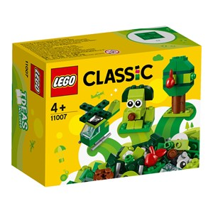 Image of LEGO Classic 11007 LEGO® Classic Creative Grøn Brikker 4+ years (1578543)