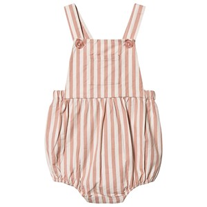 Image of Louis Louise Stribe Overalls Pink 18 Months (1570717)
