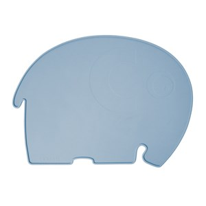 Image of sebra Elefant Silicone Placemat Pulver Blå One Size (1575993)