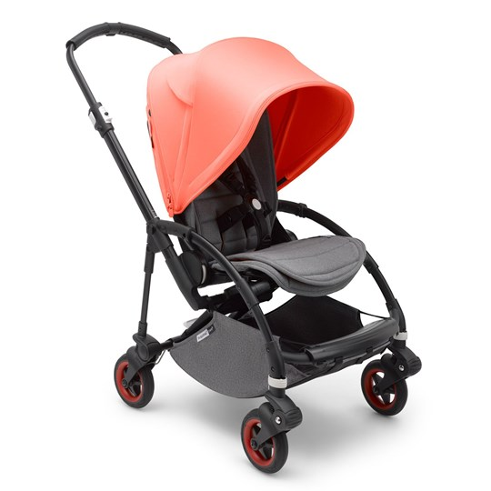 Bugaboo Bee5 Complete Limited Edition Black/Coral Coral