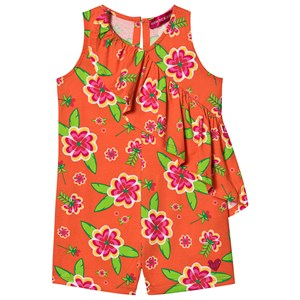 Image of Agatha Ruiz de la Prada Bahia Ruffle Romper Orange 10 years (1497757)