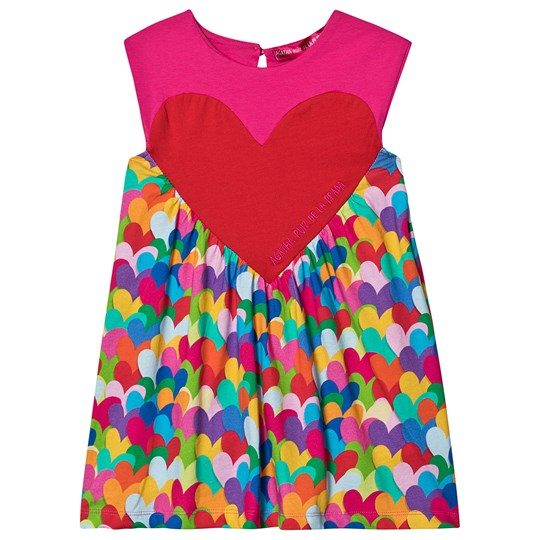 Agatha Ruiz de la Prada Heartful Colors Kjole Pink Multicolor