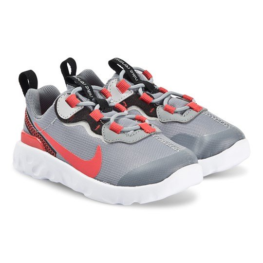 NIKE Element 55 Infants Sneakers Particle Grey/Track Red 002