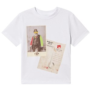 Image of Burberry Postcard T-Shirt Hvid 4 years (1576243)