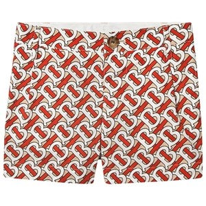 Image of Burberry Monogram Shorts Vermillion Rød 12 years (1576331)