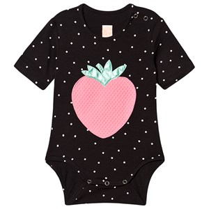 Image of Wauw Capow Strawberry Baby Body Sort 68 cm (4-6 mdr) (1501617)