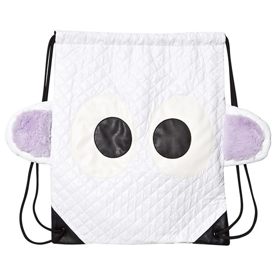 Wauw Capow Funny Guy Backpack White White