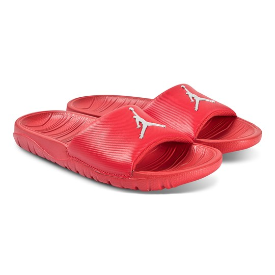 Air Jordan Break Slide Sandals University Red/Metallic Silver 602