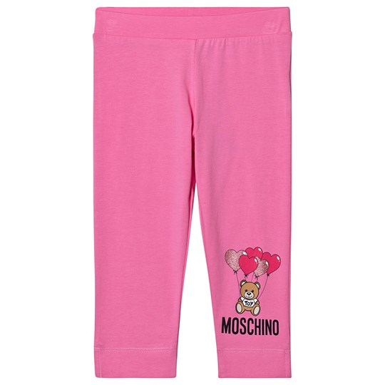 Moschino Kid-Teen Logo Baby Leggings Pink 51470