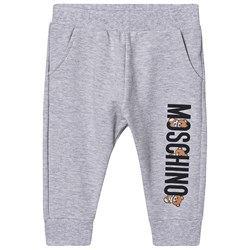 Moschino Kid-Teen Logo Sweatpants Grey