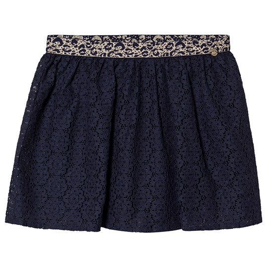 IKKS Embroidered Skirt Navy 48