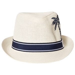 Image of IKKS Palm Tree Trilby Hat Hvid 53cm (8-10 years) (1578322)
