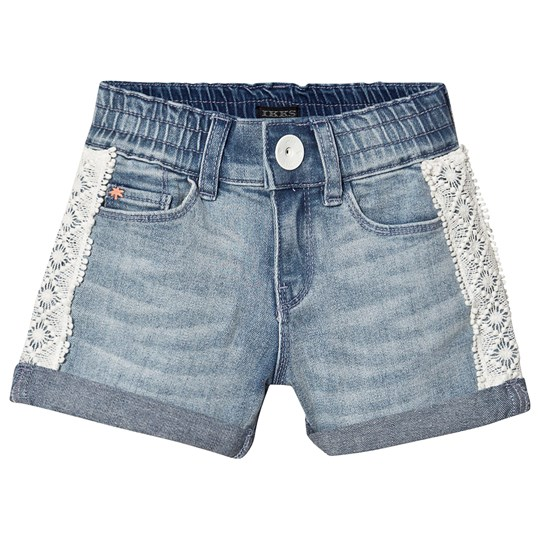 IKKS Denim Side Trim Shorts Blue 82