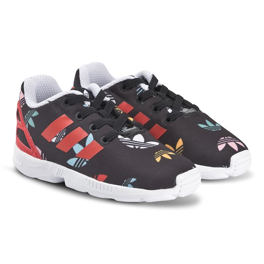 adidas Originals ZX Flux Infants Sneakers Black/Red core black/lush red/ftwr white
