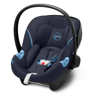 Image of Cybex Aton M i-Size Infant Carrier Navy Blå One Size (1578603)