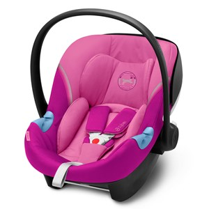 Image of Cybex Aton M i-Size Infant Carrier Magnolia Pink One Size (1578604)