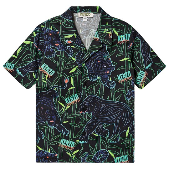 Kenzo Disco Jungle Shirt Black 02