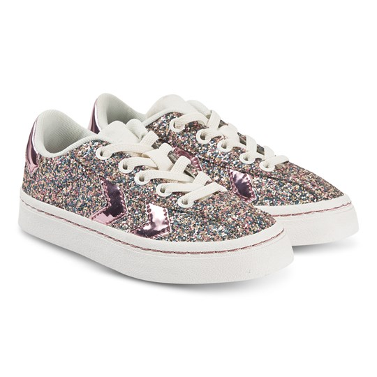 Hummel Diamant Glitter Jr Sneakers Lilac Snow Lilac Snow