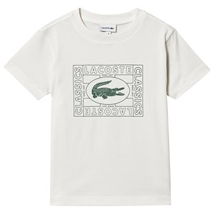 Image of Lacoste Heritage Stamp Logo T-shirt Cream 5 years (1517660)