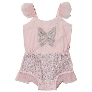 Image of Tutu Du Monde Social Butterfly Sequin Embellished Baby Body Pink 3-6 months (1550717)