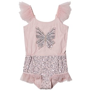 Image of Tutu Du Monde Social Butterfly Sequin Embellished Body Pink 4-5 years (1550751)
