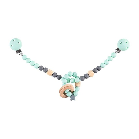 Nibbling Stroller Toy Chain Mint Mint