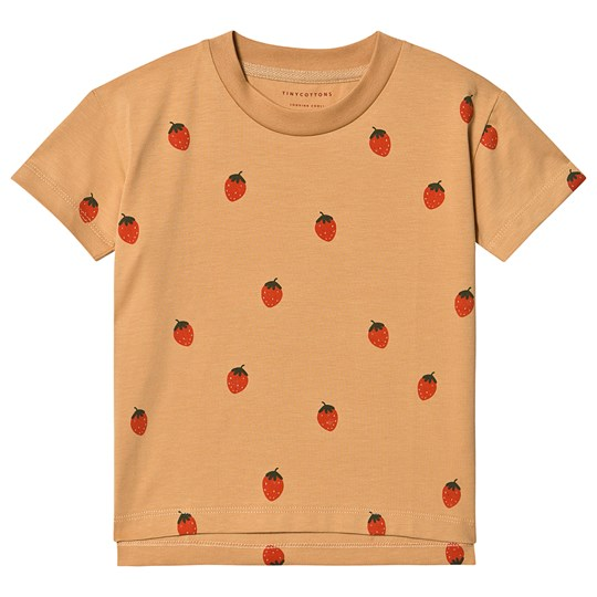 Tinycottons Strawberries Tee Toffee/Red Toffee/Red