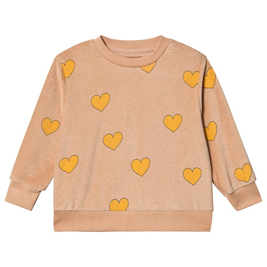 Tinycottons Hearts Sweatshirt Light Nude/Yellow Light Nude/Yellow