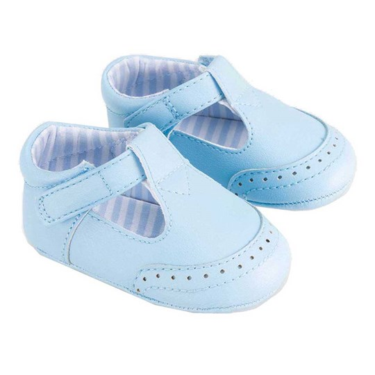 Mayoral T-Bar Baby Shoes Light Blue 81