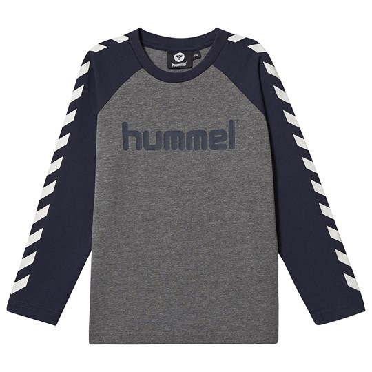 Hummel Long Sleeved Tee Black Iris Black Iris