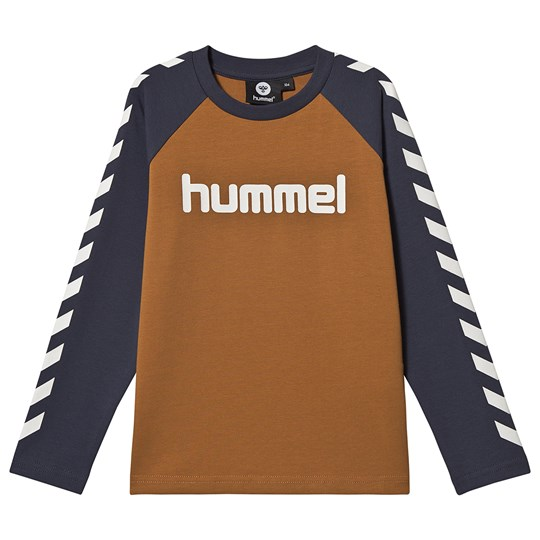 Hummel Long Sleeved Tee Cathay Spice Cathay Spice