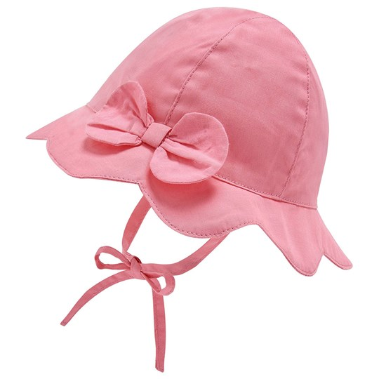 Mayoral Bow Baby Sun Hat Pink 10