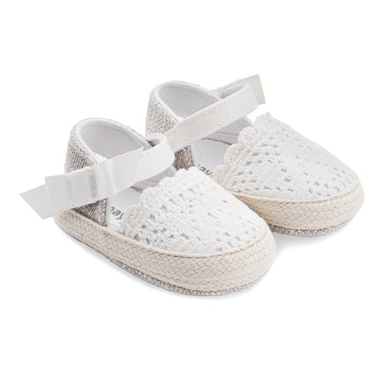 Mayoral Baby Espadrille Shoes White 75