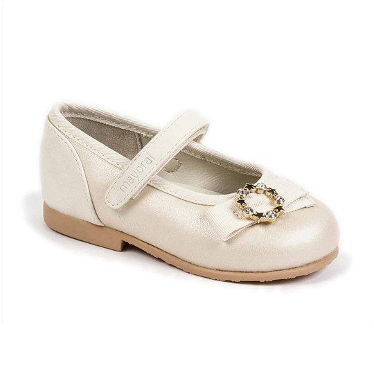 Mayoral Mary Jane Shoes Off White 79