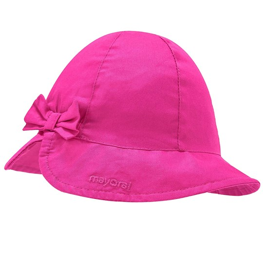 Mayoral Bow Sol Hat Pink 84