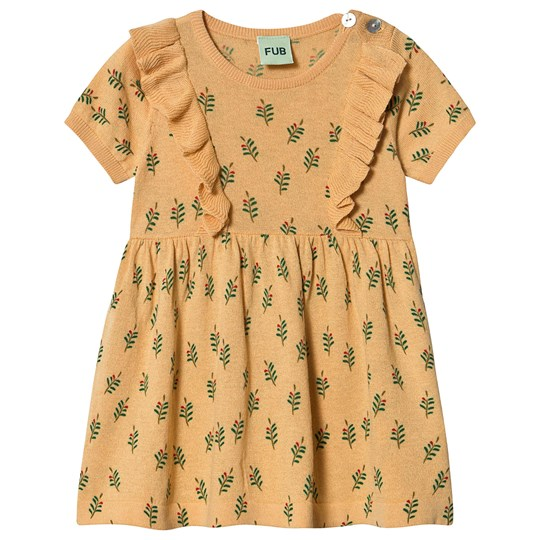 FUB Baby Dress Yellow Yellow