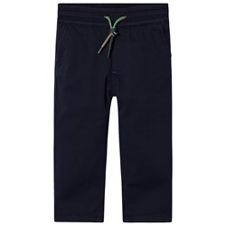Paul Smith Junior Zebra Chino Pants Navy