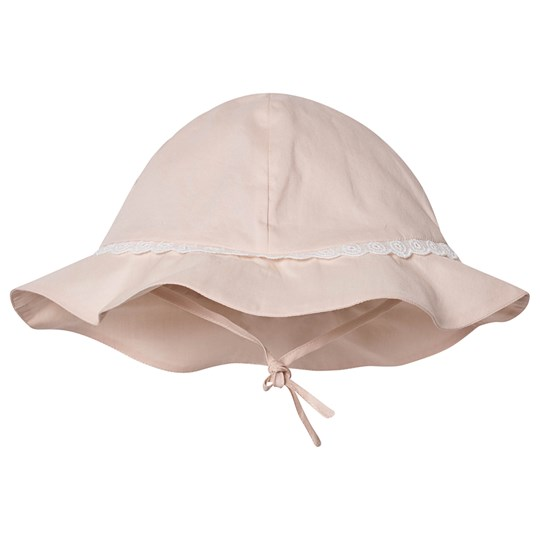 Chloé Embroidered Logo Bucket Hat Pale Pink 44B