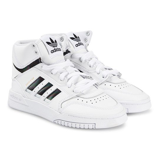 adidas Originals Drop Step Sneakers White FTWR WHITE/CORE BLACK/FTWR WHITE