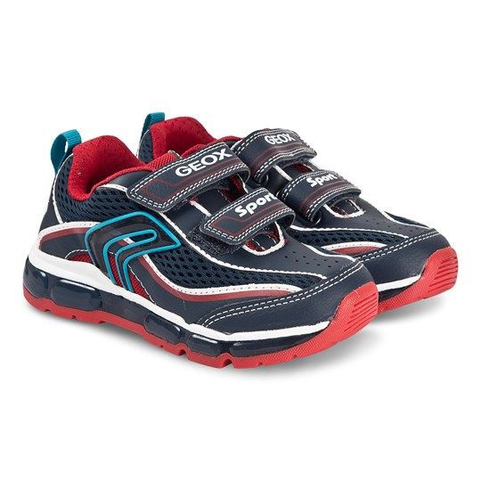 Geox Android Sneakers Navy/Red Navy/Red