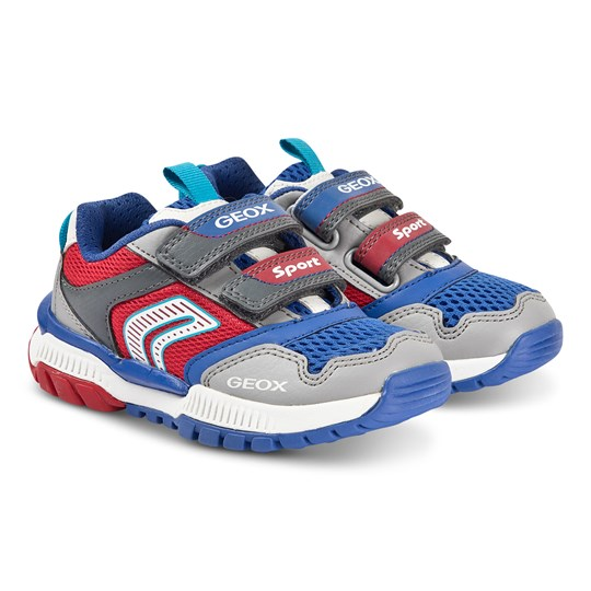 Geox Tuono Sneakers Grey/Red Grey/Red